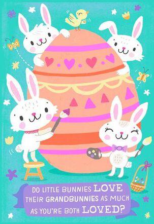 Love You Grandbunny Easter Card