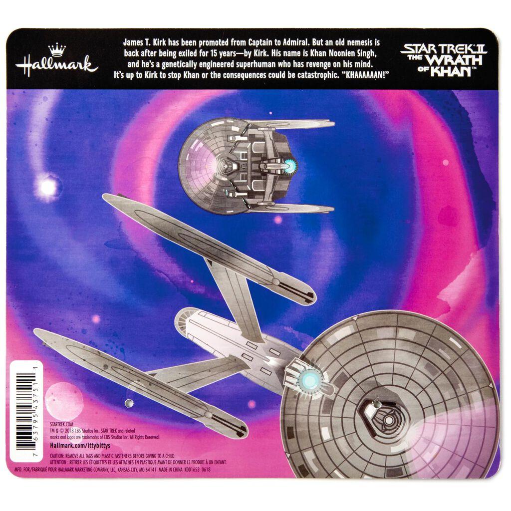 itty bittys® Star Trek II: The Wrath of Khan™ Kirk™ and Khan™ Stuffed  Animals, Set of 2
