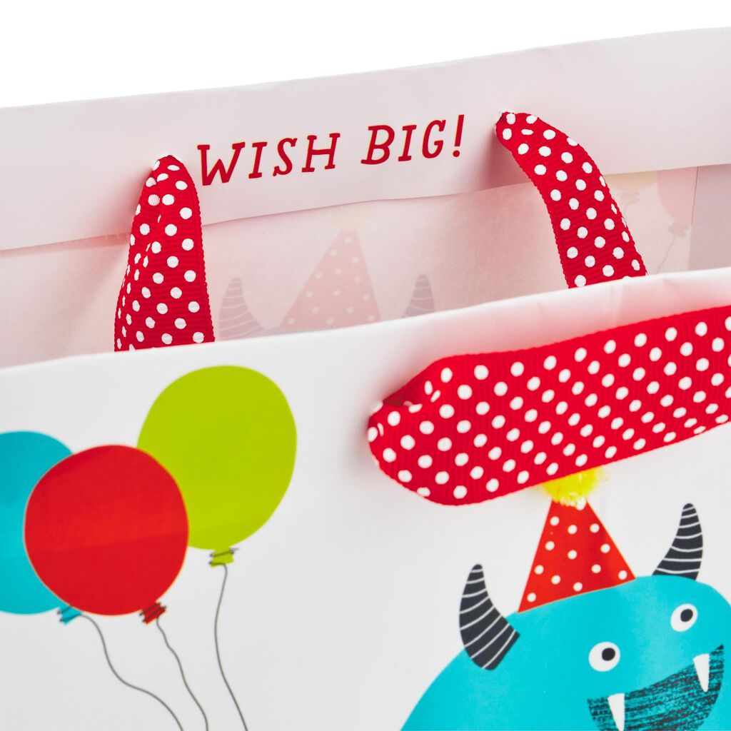 City Monster Medium Birthday Gift Bag