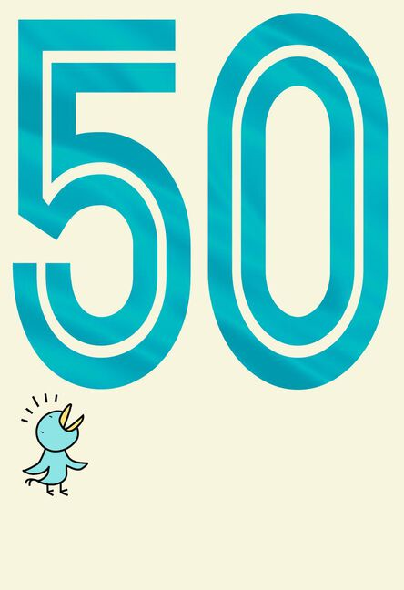 Big Ass Number Funny 50th Birthday Card Greeting Cards Hallmark
