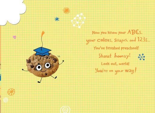 Smart Cookie Preschool Graduation Card,