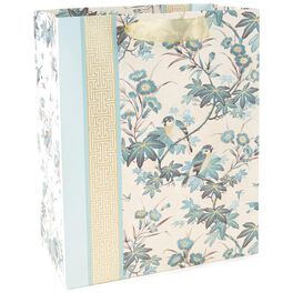 "Birds and Branches Large Gift Bag, 13"", , large"