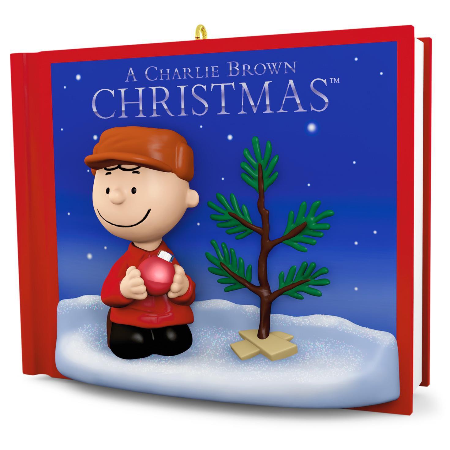PEANUTS A Charlie Brown Christmas Ornament With Sound  Keepsake