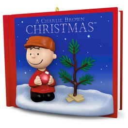 PEANUTS® A Charlie Brown Christmas Ornament With Sound, , large