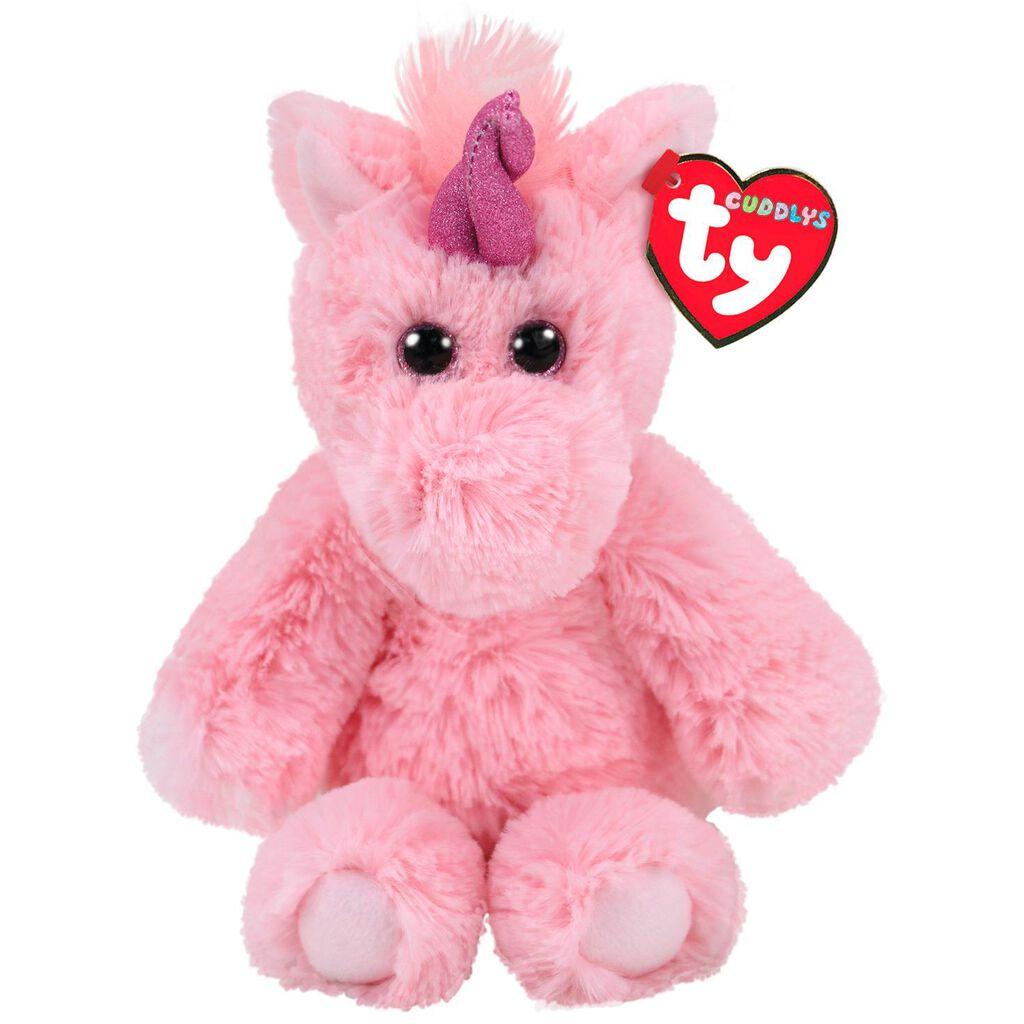 Ty Cuddlys Small Estelle Unicorn Stuffed Animal f6808cd3bcf