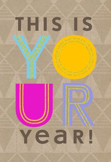 Your Year, Your Way Birthday Card,