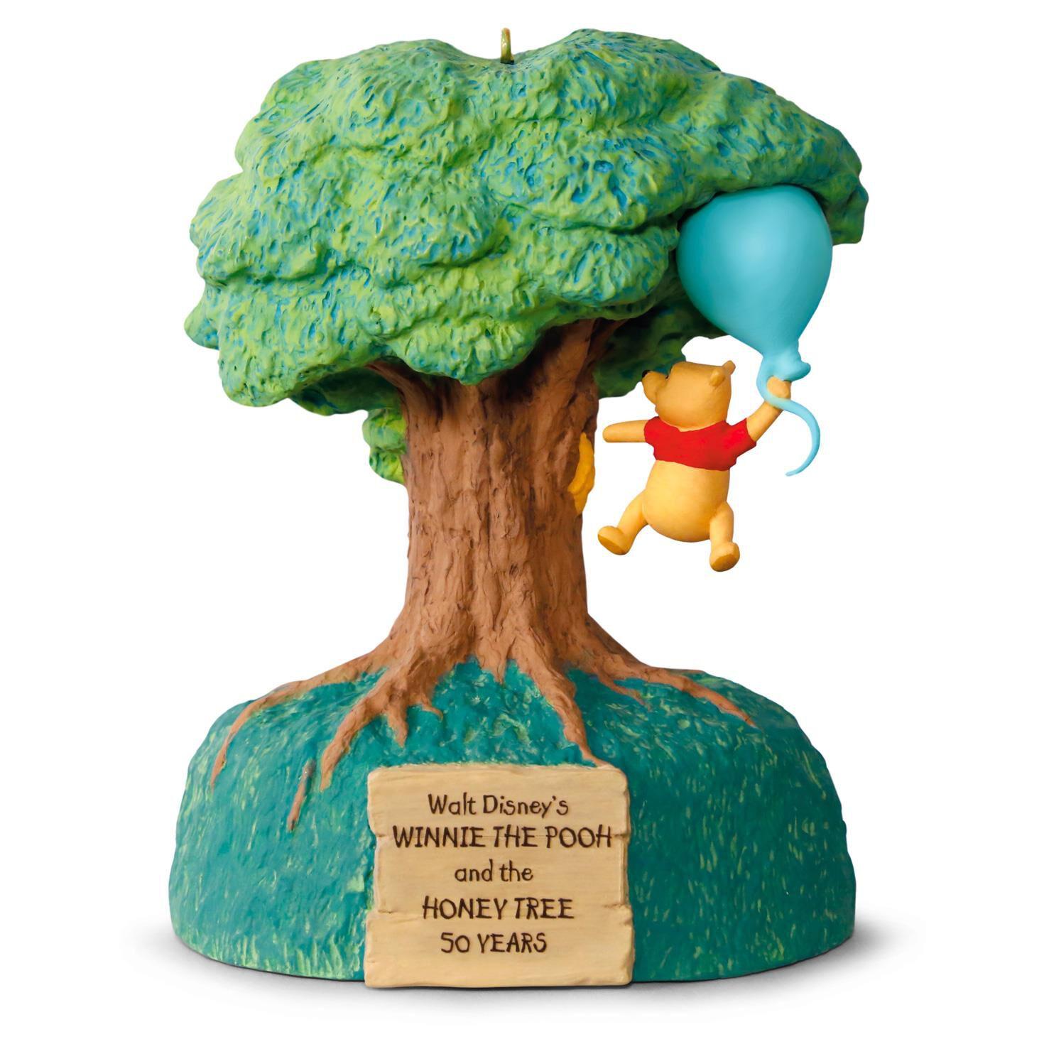 Disney Winnie The Pooh And Honey Tree 50th Anniversary Music Motion Ornament Keepsake Ornaments Hallmark