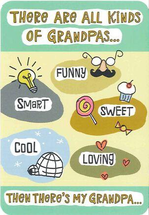All Kinds of Grandpas Birthday Card