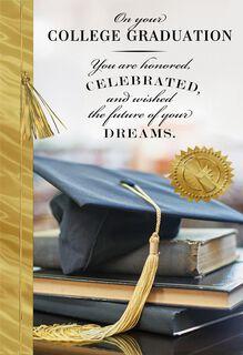 Just A Beginning College Graduation Card,