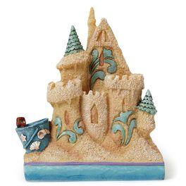 Jim Shore Mini Sandcastle Figurine, , large