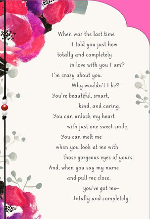 Totally and Completely In Love Card