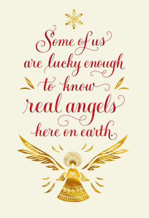 Angels on Earth Christmas Card