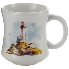 Lighthouse Ceramic Mug, , large