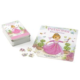 Princess Personalized Puzzle and Tin, , large