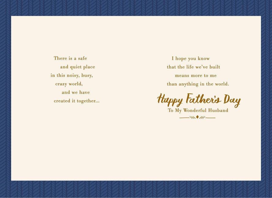 My heart is home fathers day card for husband greeting cards my heart is home fathers day card for husband m4hsunfo