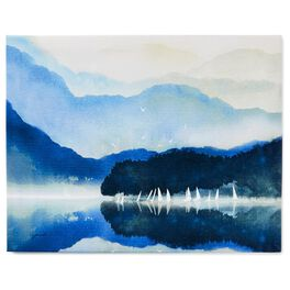 Cedar Cove Reflective Waters 11x14 Canvas Art, , large