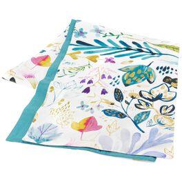 Flower Print Table Runner, 90x14, , large