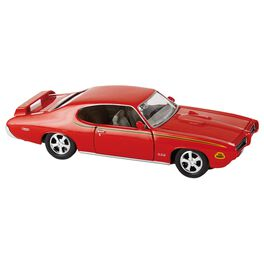 1969 Pontiac GTO Judge Die-Cast Metal Car, , large