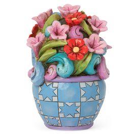 Jim Shore Mini Flower Bouquet Figurine, , large