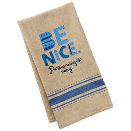 Be Nice Cotton Tea Towel, , large