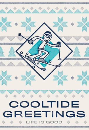 Life is Good® Cooltide Greetings Christmas Card