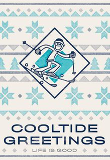 Life is Good® Cooltide Greetings Christmas Card,
