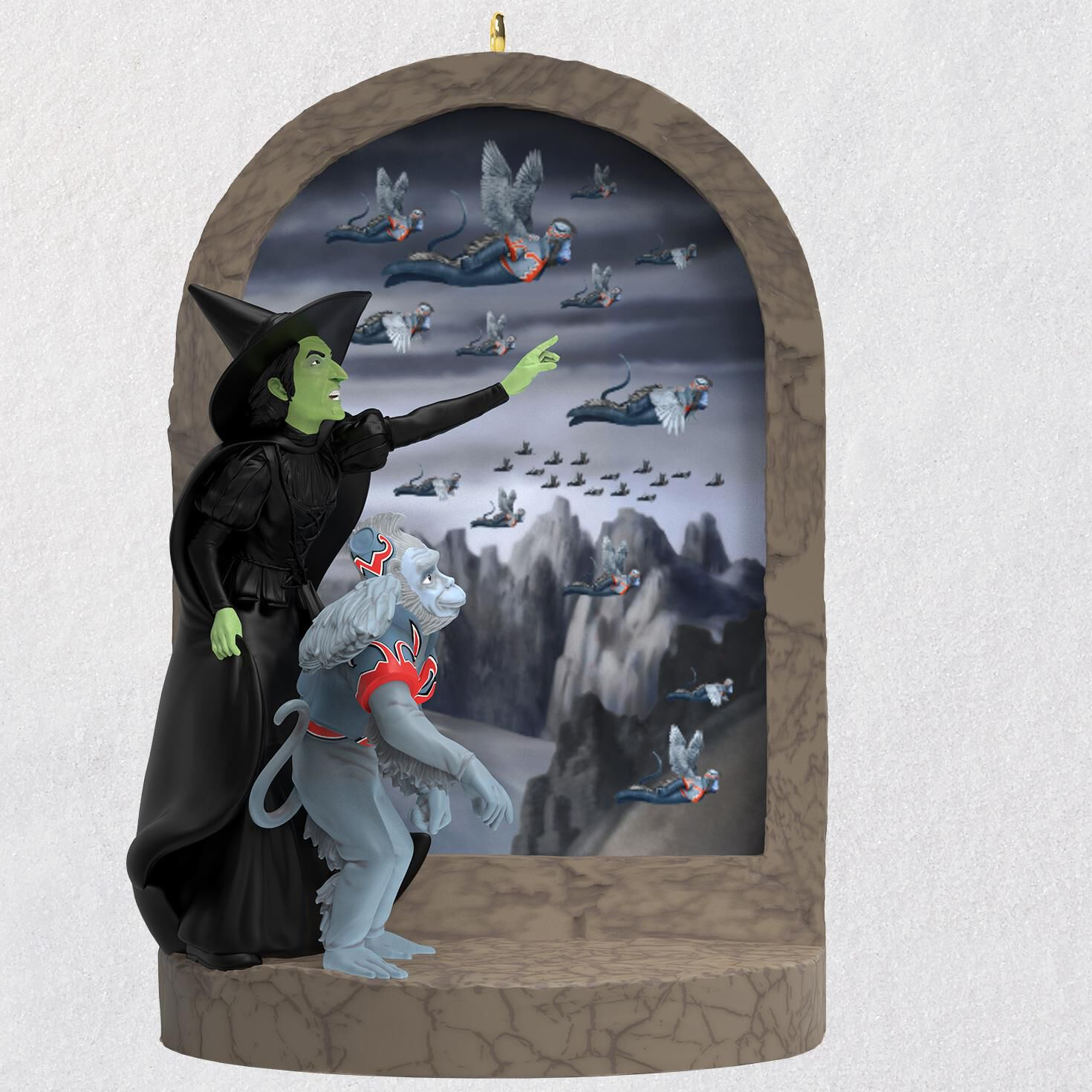 the wizard of oz monkey business ornament with sound keepsake