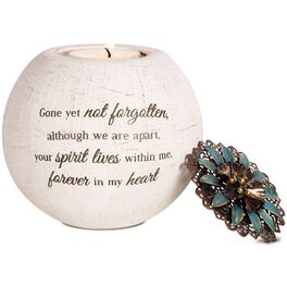 Light Your Way Gone Yet Not Forgotten Tealight Candle Holder, , large