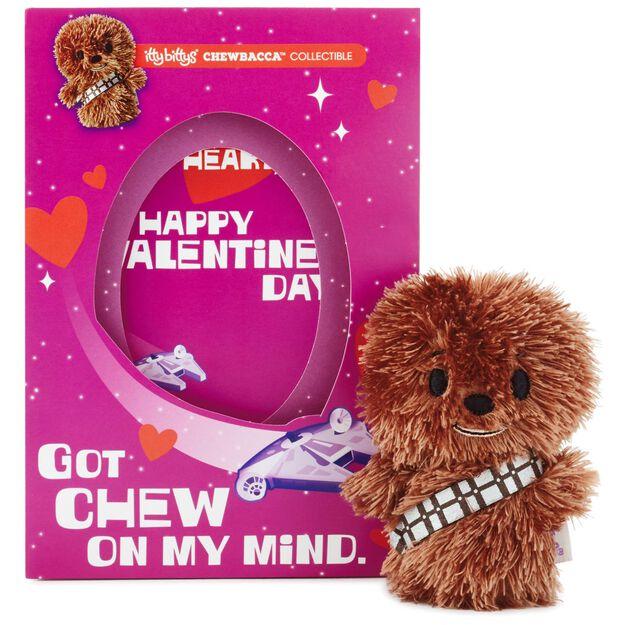 itty bittys® star wars™ chewbacca™ valentine's day card with, Ideas