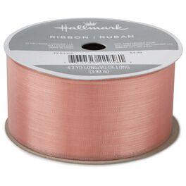 """Pink 1 1/2"""" Sheer Ribbon, 4.3 yds., , large"""