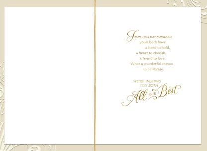 Hands to Hold Wedding Card,