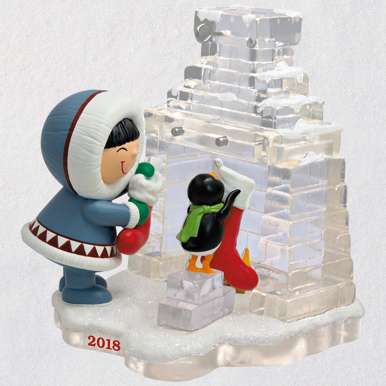 Frosty Friends Hanging Stockings Ornament - Keepsake Ornaments ...