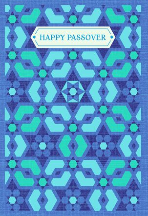 Celebrate Blessings Passover Card