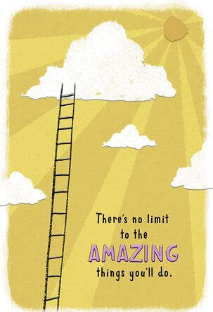 There's No Limit to What You Can Do Encouragement Card