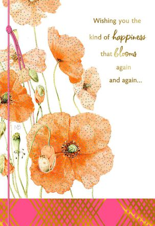Marjolein Bastin Wishing You Happiness That Blooms Birthday Card