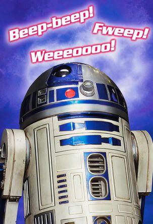 Star Wars™ R2-D2™ Musical Valentine's Day Card