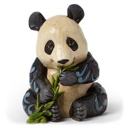 Jim Shore Mini Panda Figurine, , large