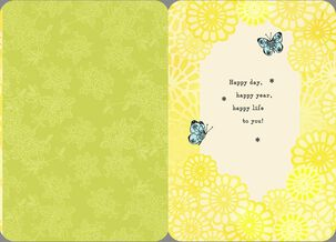 Sing Your Song Birthday Card