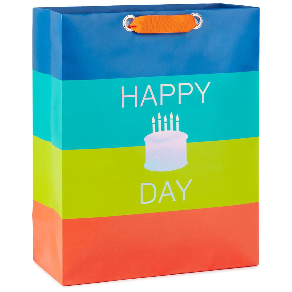 Happy Cake Day X Large Birthday Gift Bag
