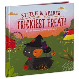 Stitch & Spider and the Trickiest Treat! Halloween Book, , large