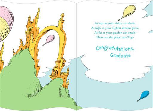 Dr. Seuss™ Hot Air Balloon Graduation Card,