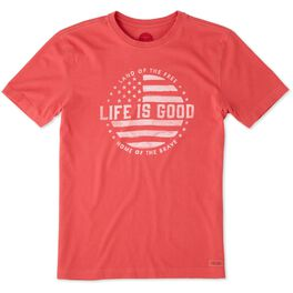Life is Good® Men's Flag T-Shirt, , large