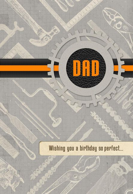 Build The Perfect Day Birthday Card For Dad Greeting Cards Hallmark