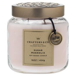 Crafters & Co. Sugar Magnolia Candle, 16-oz, , large