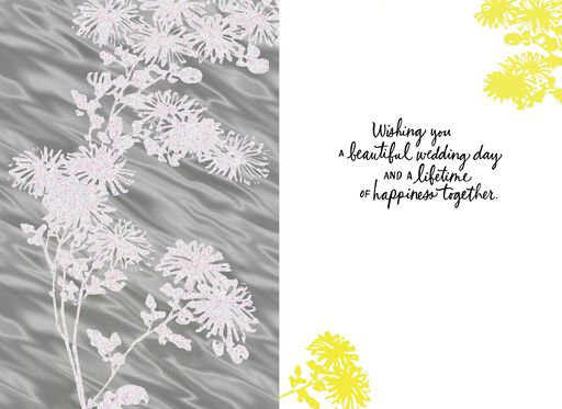 Dance Through Life With Happiness Wedding Card,