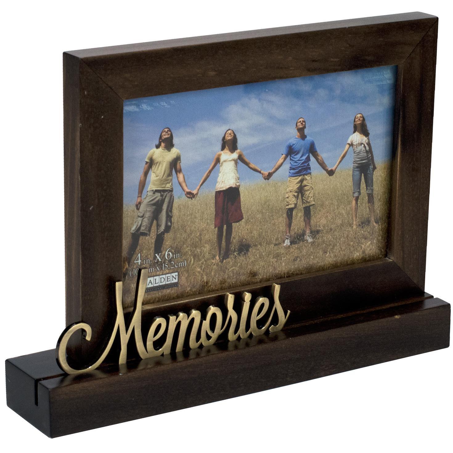 Malden Memories Platform Wood Photo Frame, 4x6 - Picture Frames ...