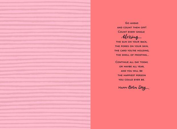 Jill Scott Goldenly Blessed Musical Birthday Card