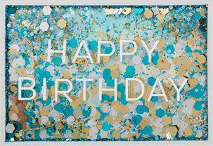 Confetti Easy to Celebrate Birthday Card