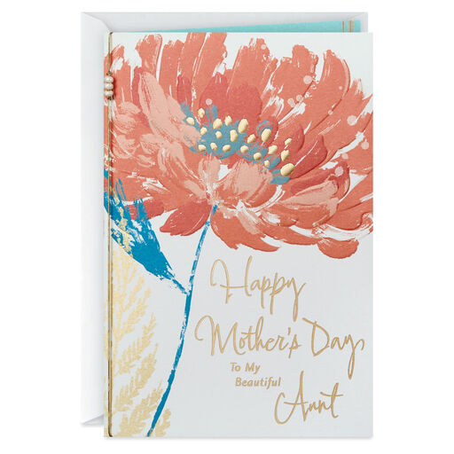 To My Beautiful Aunt Mothers Day Card