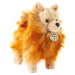 Fluffy Pom Pom Dog Large Stuffed Animal, , large